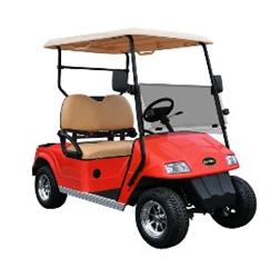 Golfbil kan fås i valfri RAL färg